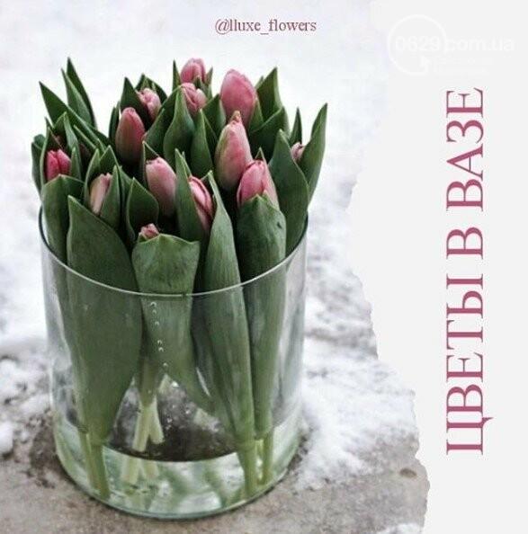Изысканные, стильные букеты цветов с доставкой от сети салонов LUXE, фото-8
