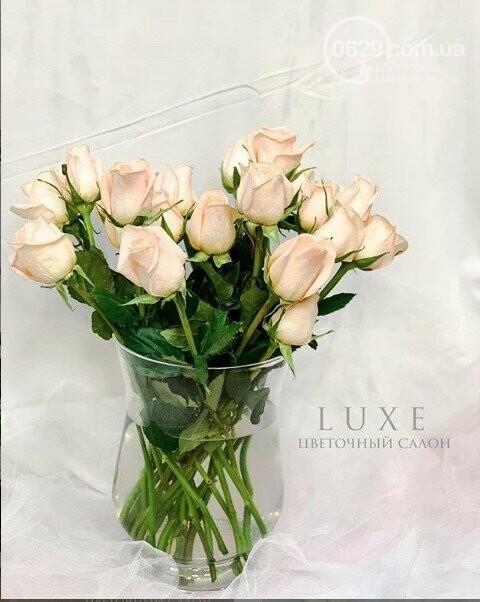 Изысканные, стильные букеты цветов с доставкой от сети салонов LUXE, фото-17