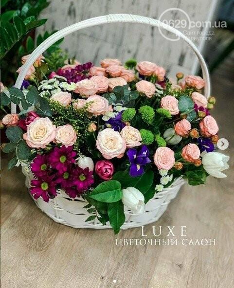 Изысканные, стильные букеты цветов с доставкой от сети салонов LUXE, фото-15