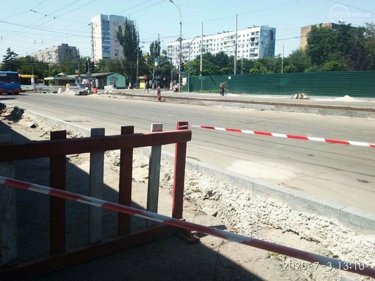 В Мариуполе на 8 дней перекроют часть проспекта Мира, - ФОТОРЕПОРТАЖ, фото-2