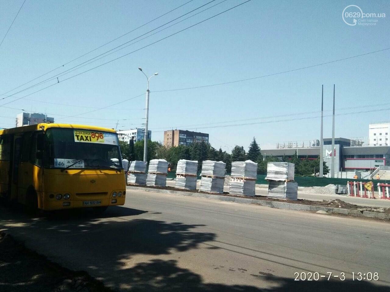 В Мариуполе на 8 дней перекроют часть проспекта Мира, - ФОТОРЕПОРТАЖ, фото-3