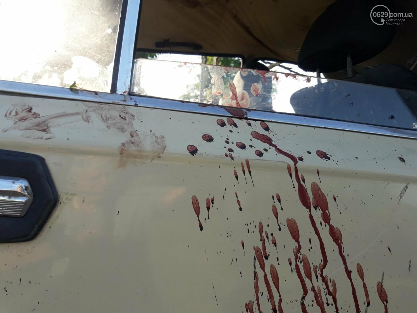 Серьезная авария в Кальмиусском районе. ВАЗ с пассажирами вылетел в кювет, четверо пострадавших, - ФОТО, фото-13