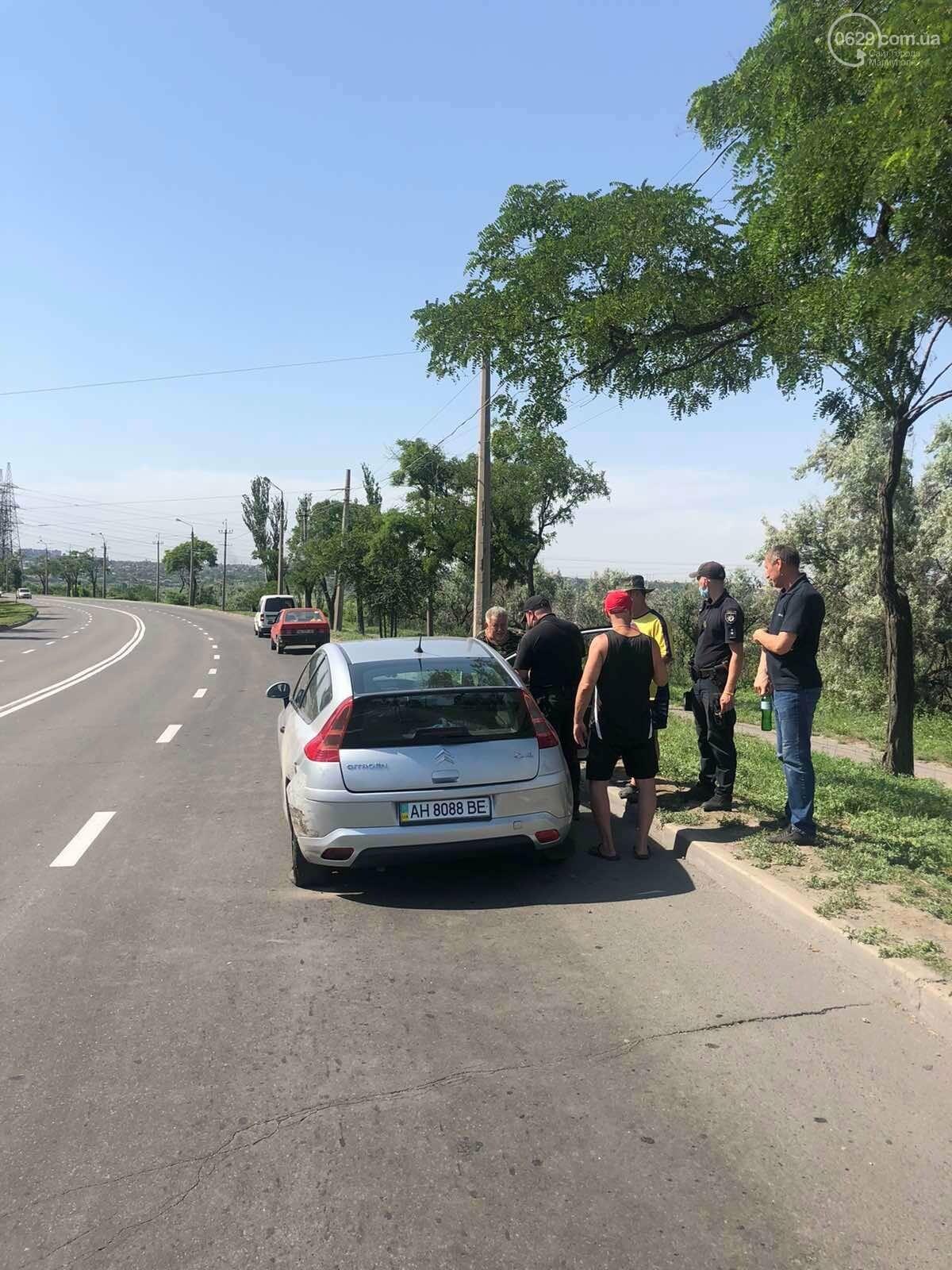 Серьезная авария в Кальмиусском районе. ВАЗ с пассажирами вылетел в кювет, четверо пострадавших, - ФОТО, фото-5