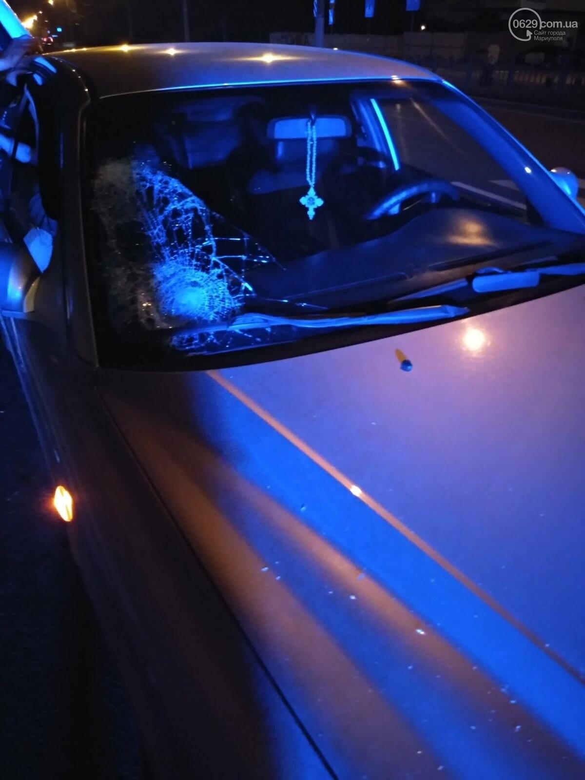 В Мариуполе ночью Hyundai сбил пешехода, - ФОТО, фото-3