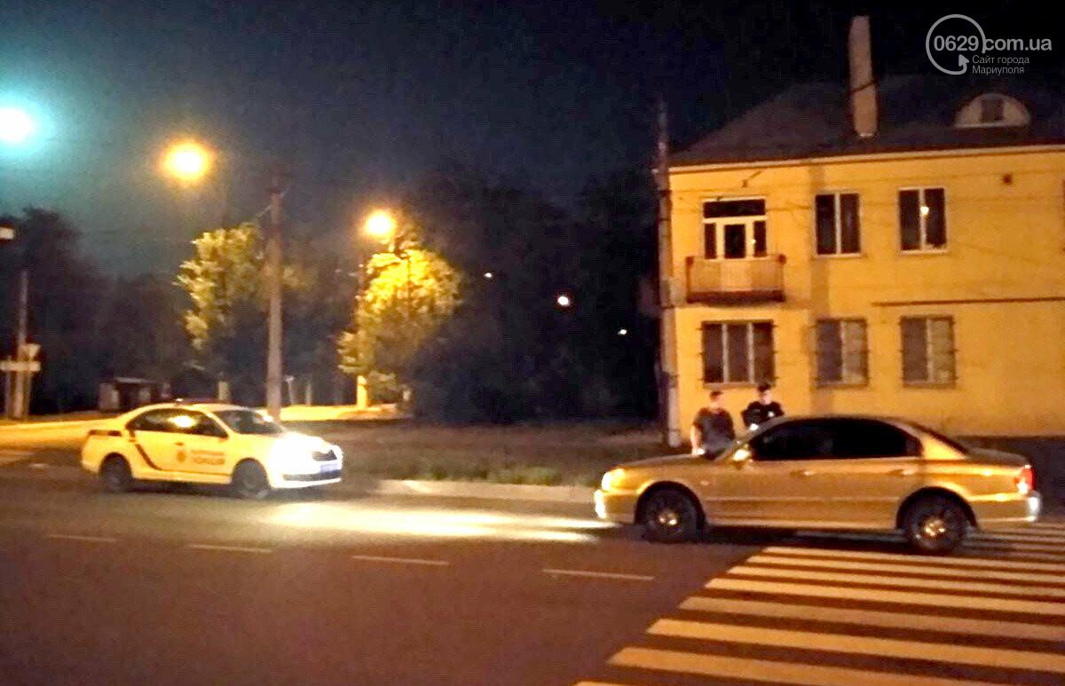 В Мариуполе ночью Hyundai сбил пешехода, - ФОТО, фото-1