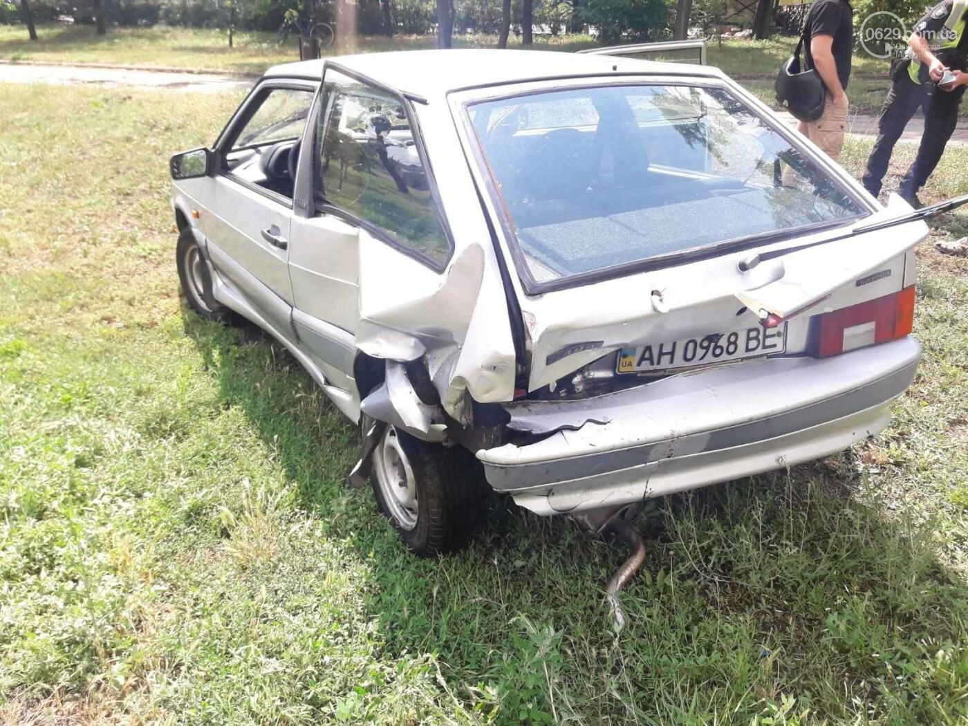 В Мариуполе Audi на полном ходу врезался в ВАЗ. Есть пострадавший, - ФОТО, фото-4