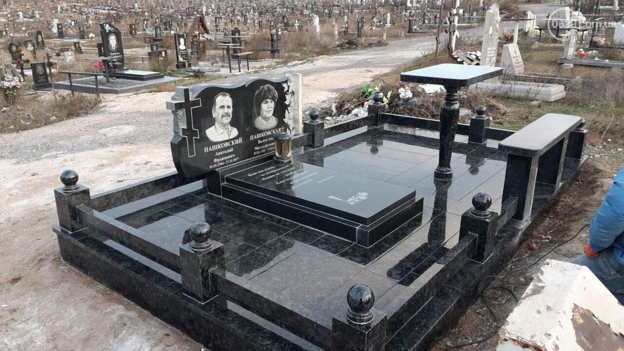 Где заказать памятник в Мариуполе? Повторная проверка известного салона гранитных памятников (ФОТО), фото-11