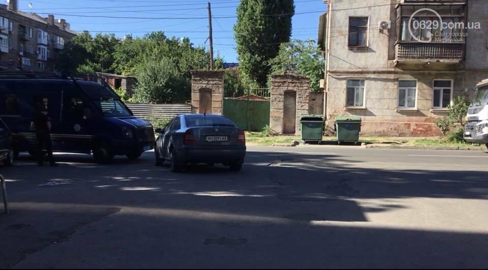 """В Мариуполе подразделение """"ТОР"""" выявили автомобилиста-нарушителя,-ФОТО, фото-2"""