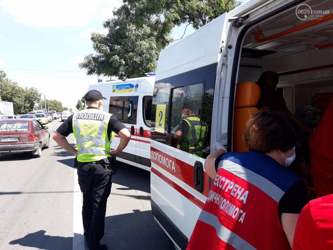 Снова ДТП! В Мариуполе на опасном перекрестке столкнулись Nissan и Mercedes. Пострадала девушка-водитель, - ФОТО, ВИДЕО, фото-10