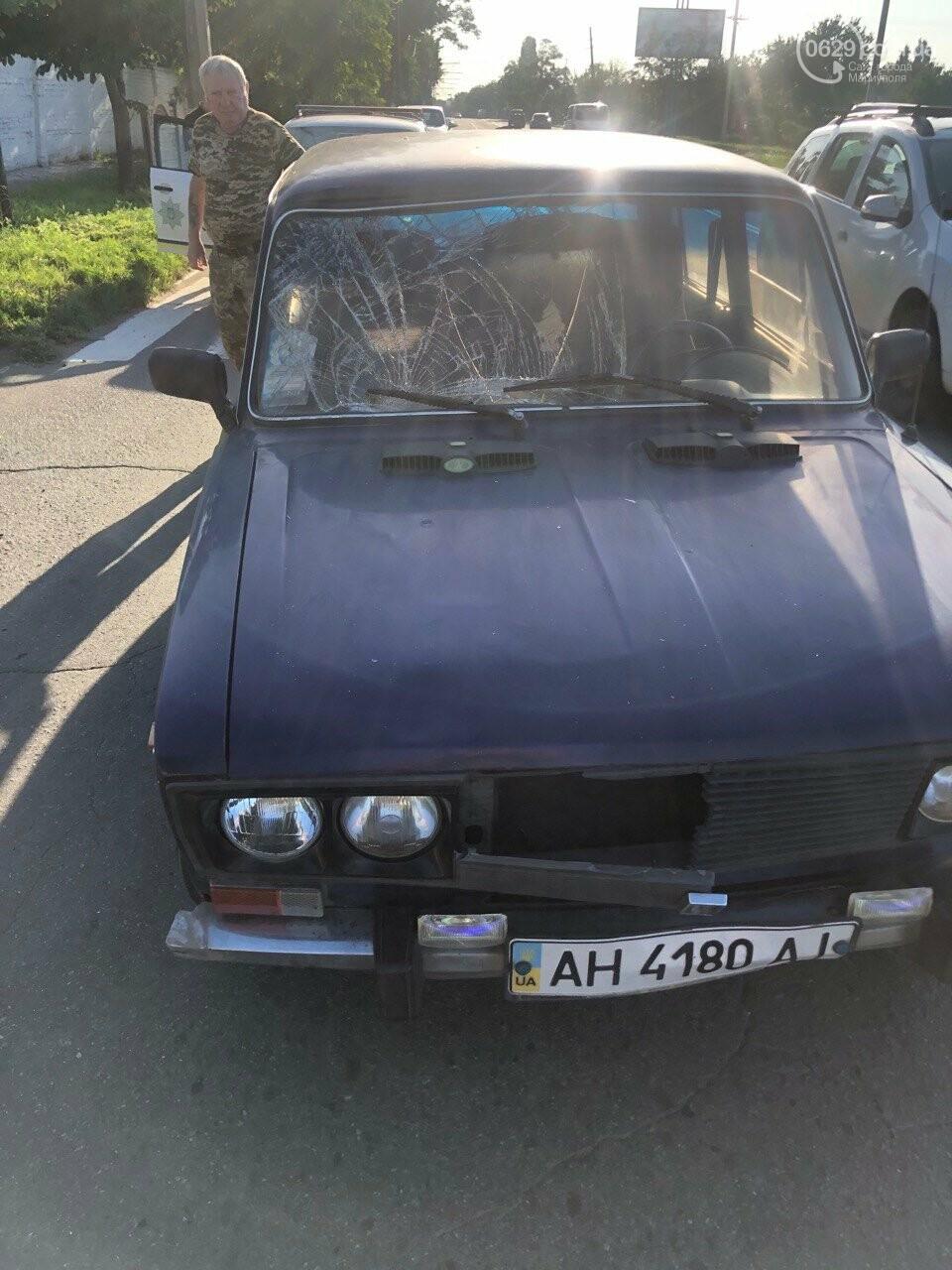 В Мариуполе ВАЗ сбил пешехода, - ФОТО, фото-5