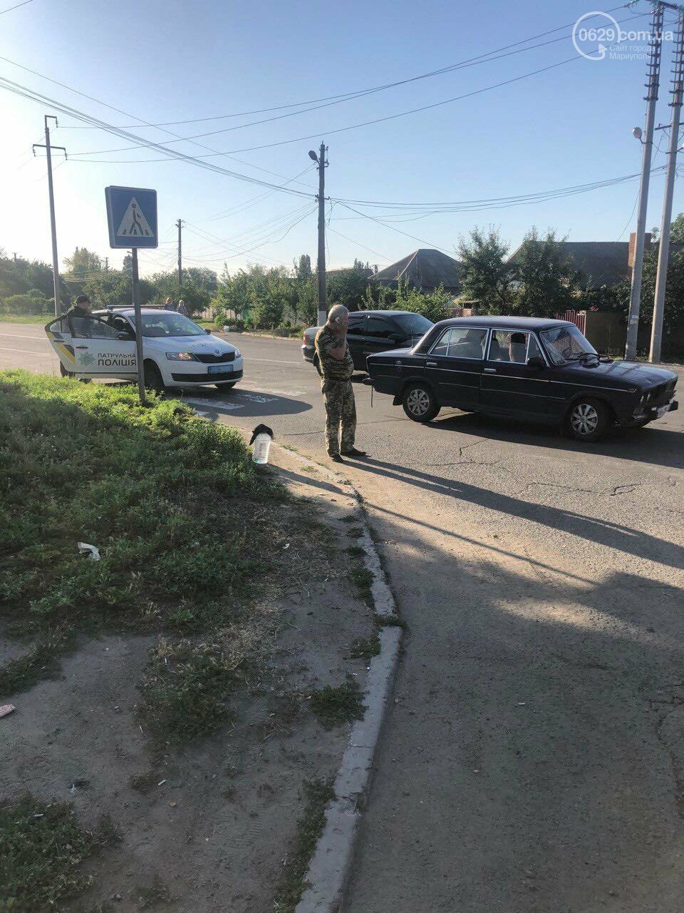 В Мариуполе ВАЗ сбил пешехода, - ФОТО, фото-3