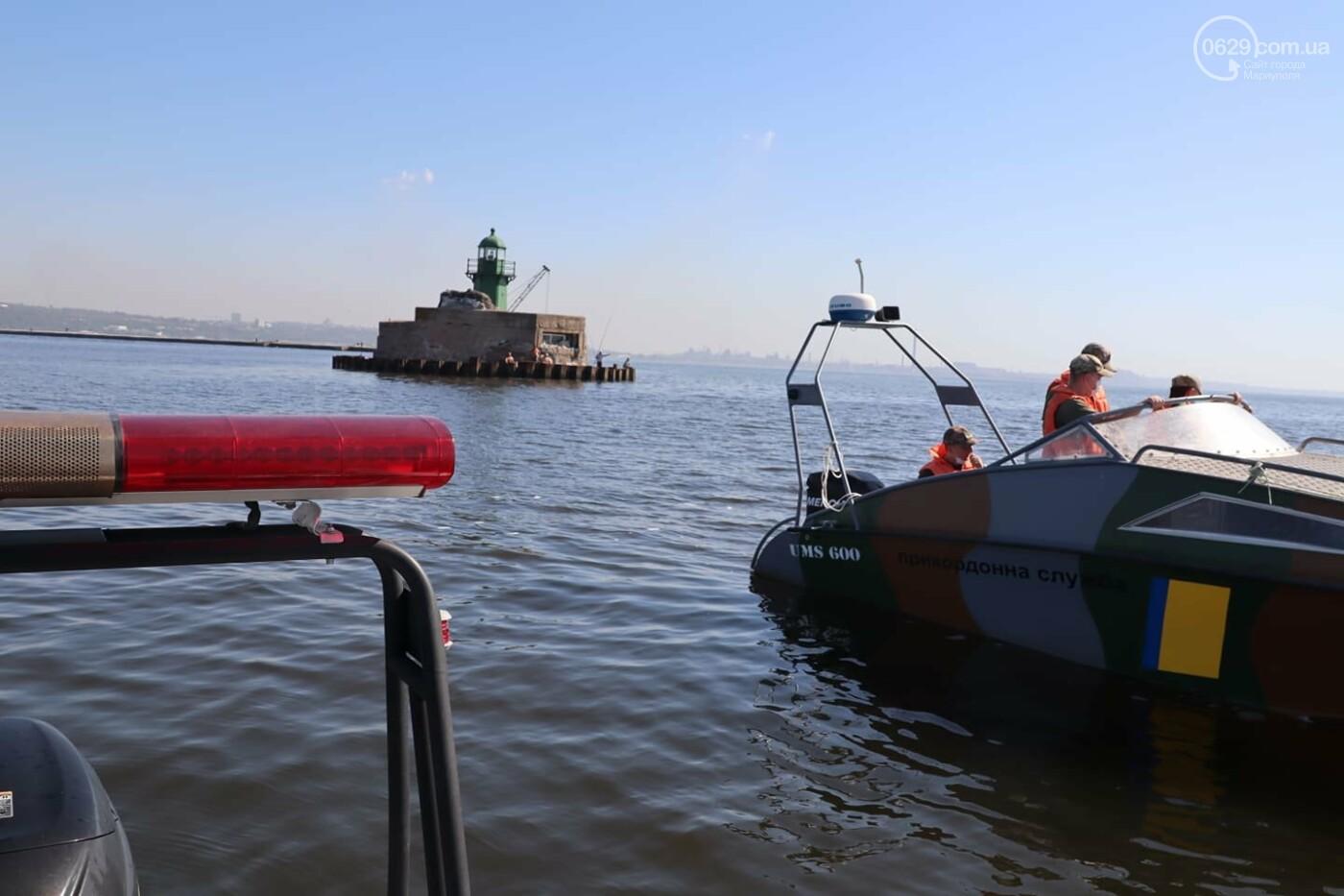 Безопасное море. Акваторию Мариуполя патрулируют силовики, - ВИДЕО, ФОТО, фото-6