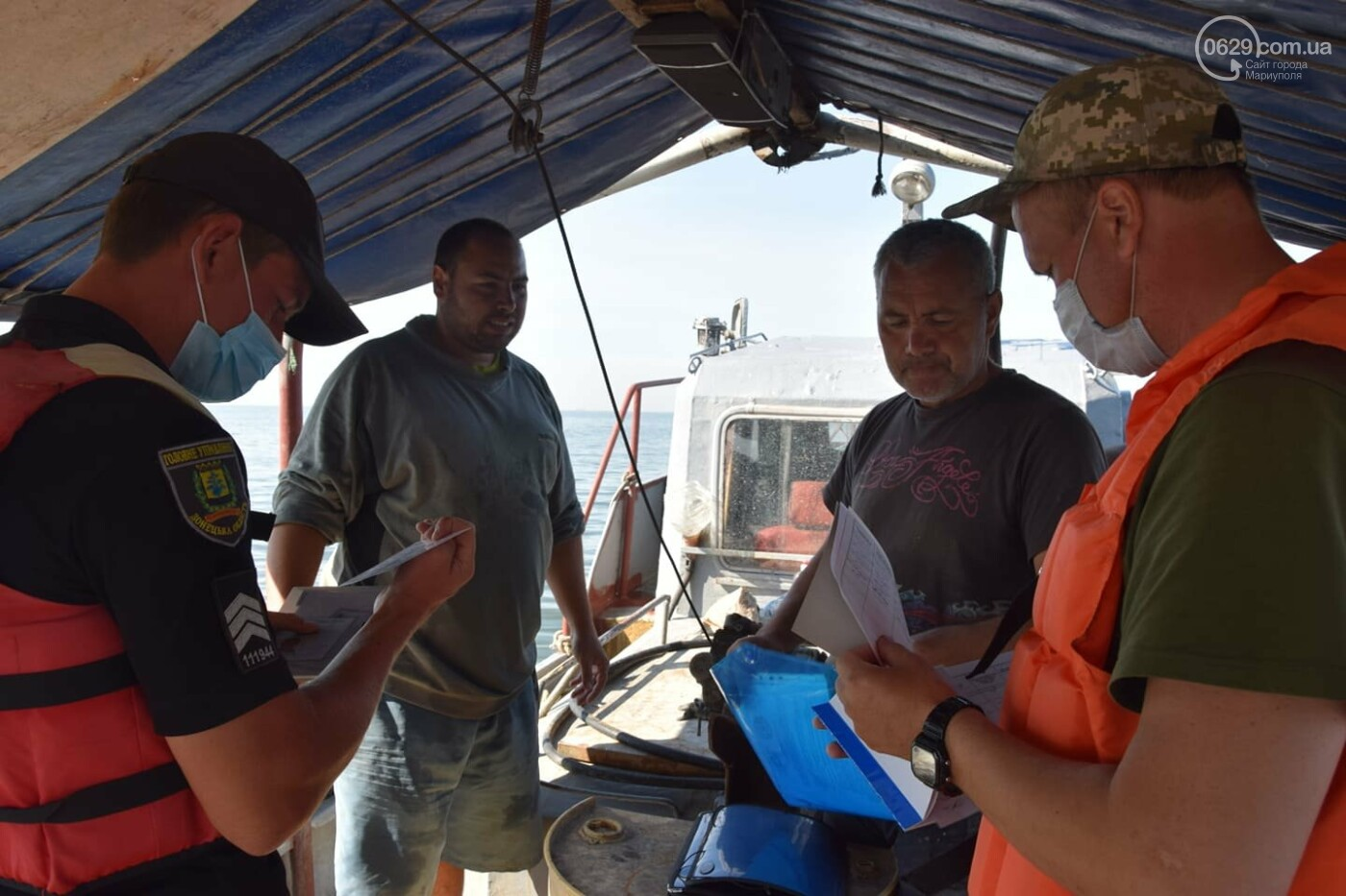 Безопасное море. Акваторию Мариуполя патрулируют силовики, - ВИДЕО, ФОТО, фото-5