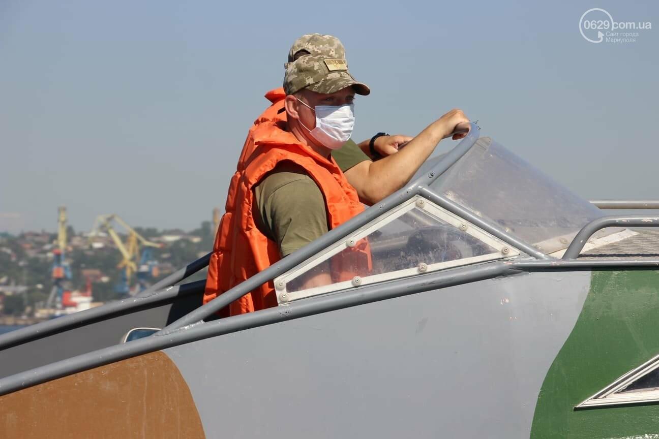 Безопасное море. Акваторию Мариуполя патрулируют силовики, - ВИДЕО, ФОТО, фото-4