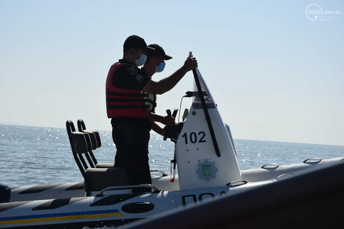 Безопасное море. Акваторию Мариуполя патрулируют силовики, - ВИДЕО, ФОТО, фото-3