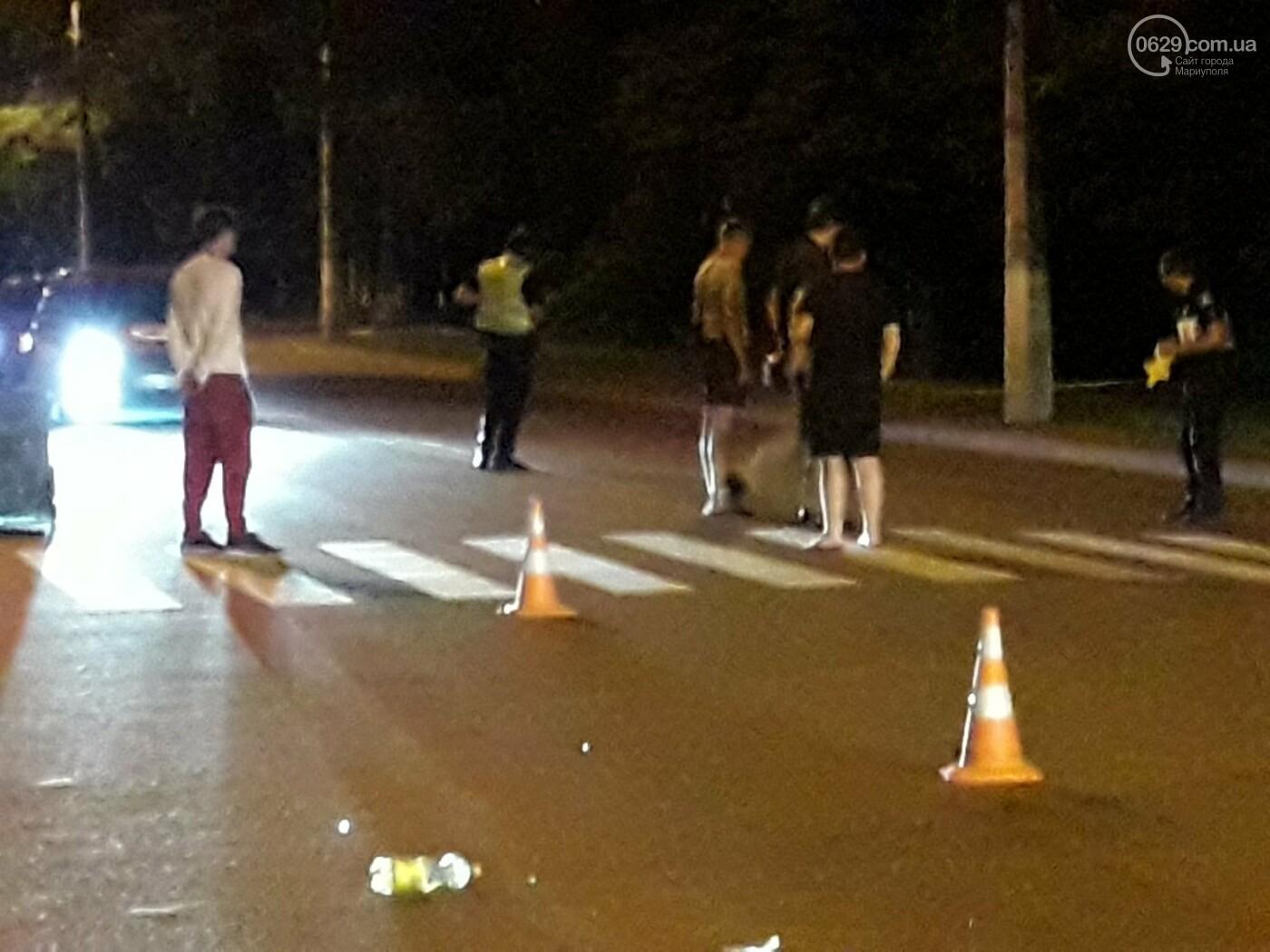 В центре Мариуполя на «зебре» Chevrolet сбил девушку, - ФОТО, ВИДЕО, фото-2