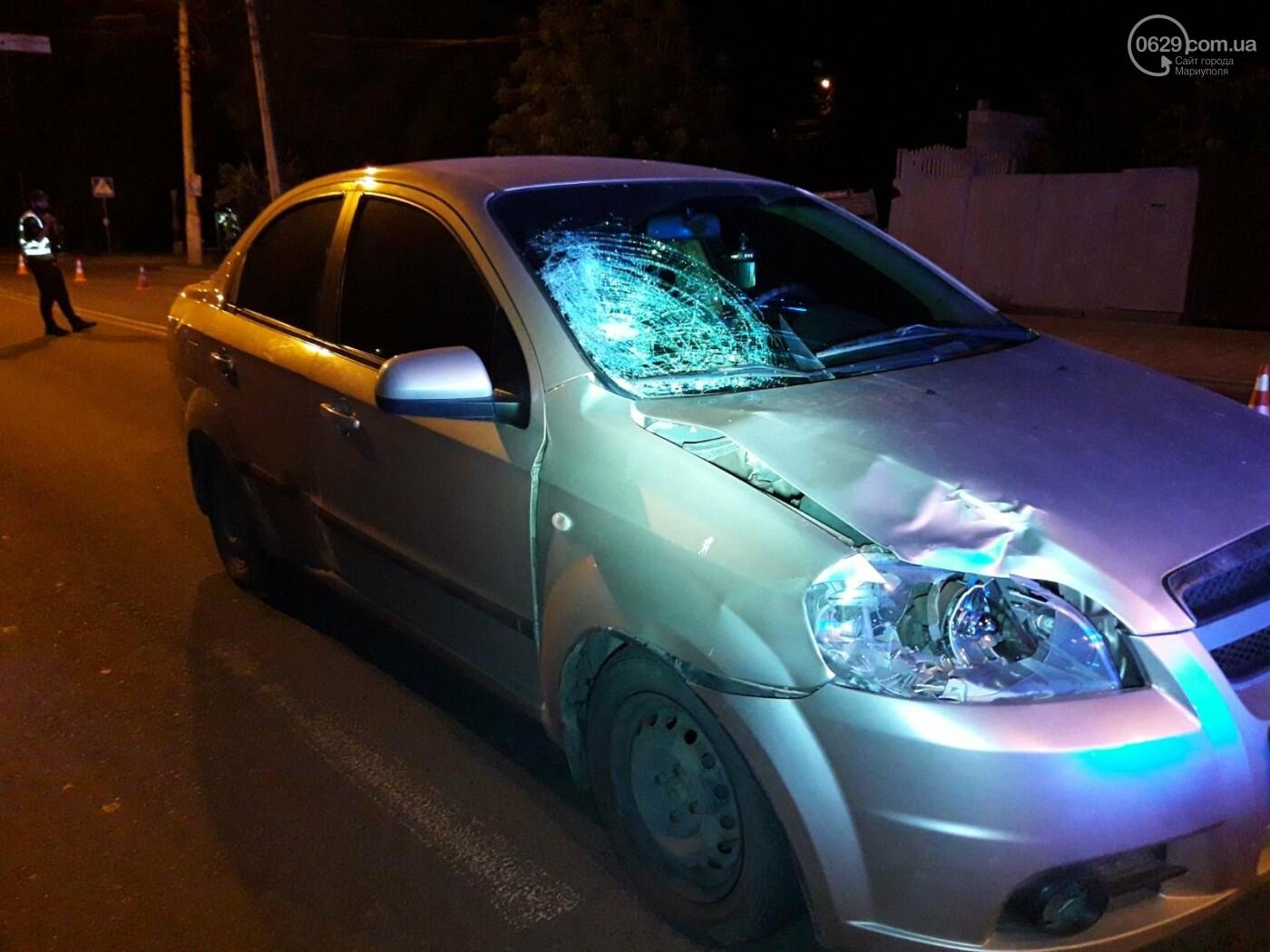 В центре Мариуполя на «зебре» Chevrolet сбил девушку, - ФОТО, ВИДЕО, фото-3