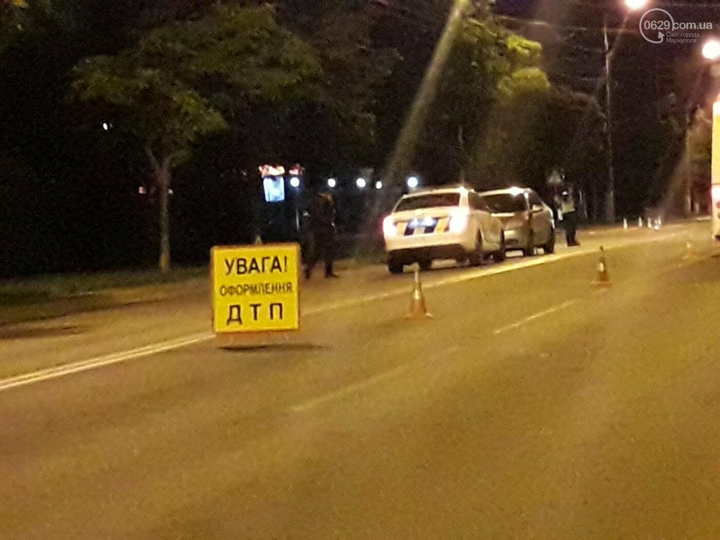 В центре Мариуполя на «зебре» Chevrolet сбил девушку, - ФОТО, ВИДЕО, фото-5