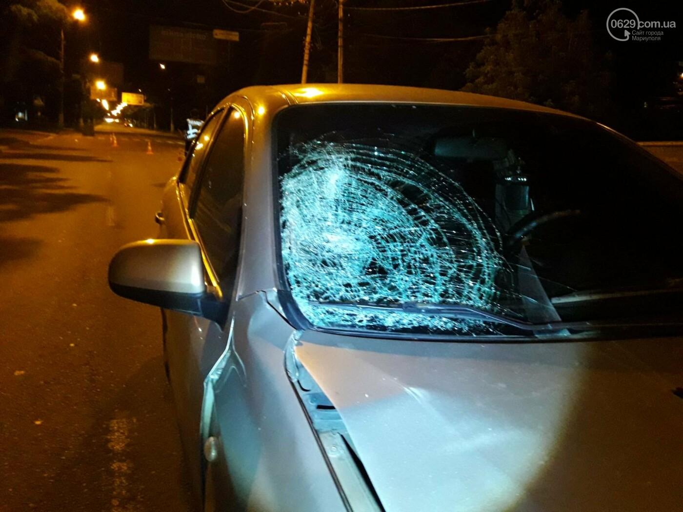 В центре Мариуполя на «зебре» Chevrolet сбил девушку, - ФОТО, ВИДЕО, фото-4