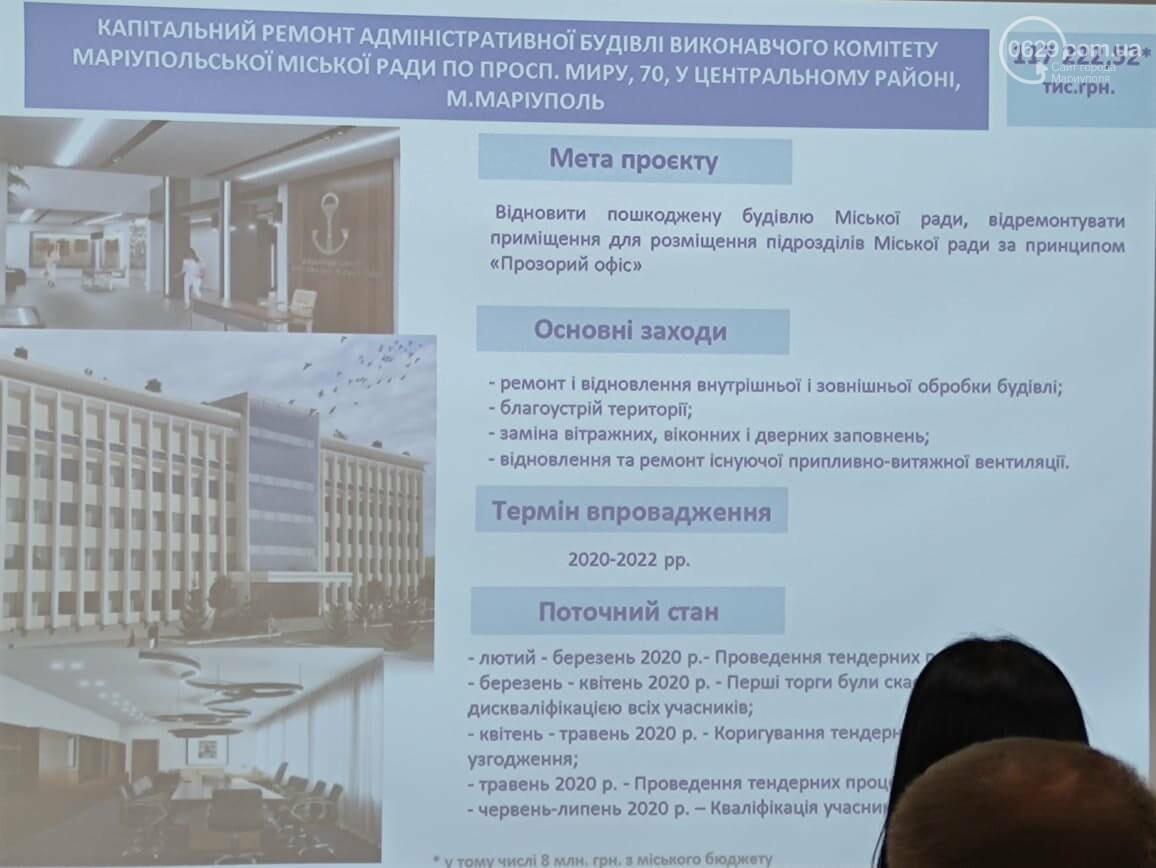 """Мариуполь нашел 750 млн грн на ремонт горсовета и """"Украинского дома"""",- ФОТО, фото-1"""