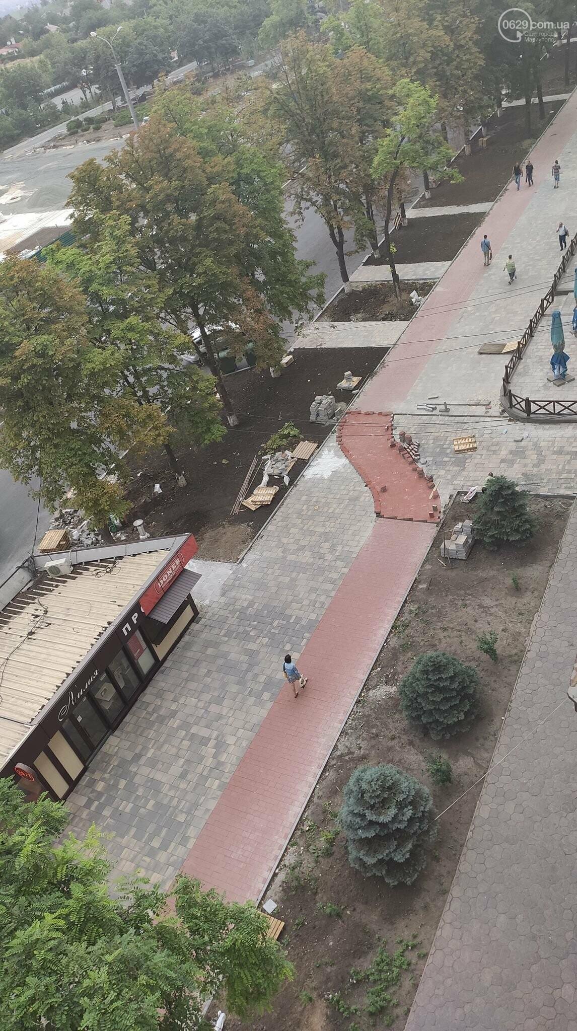 Стало известно, как теперь выглядить самая известная мариупольская велодорожка, - ФОТО, фото-1