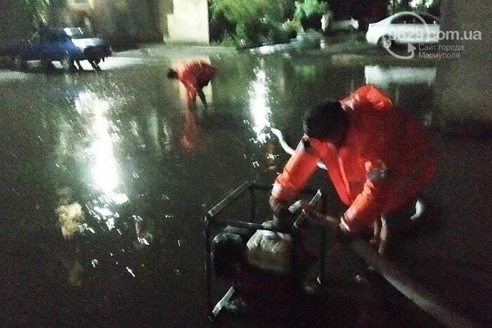 Непогода в Мариуполе: затопленная Песчанка, застрявшие трамваи и угроза для жителей пр. Лунина, - ФОТО, фото-5