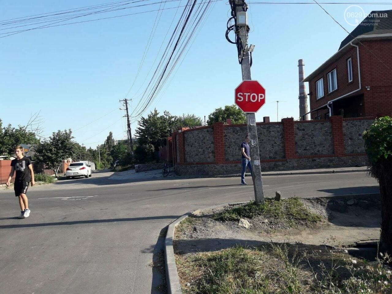 "В Мариуполе ""ВАЗ"" влетел в забор жилого дома, - ФОТО+ВИДЕО, фото-4"