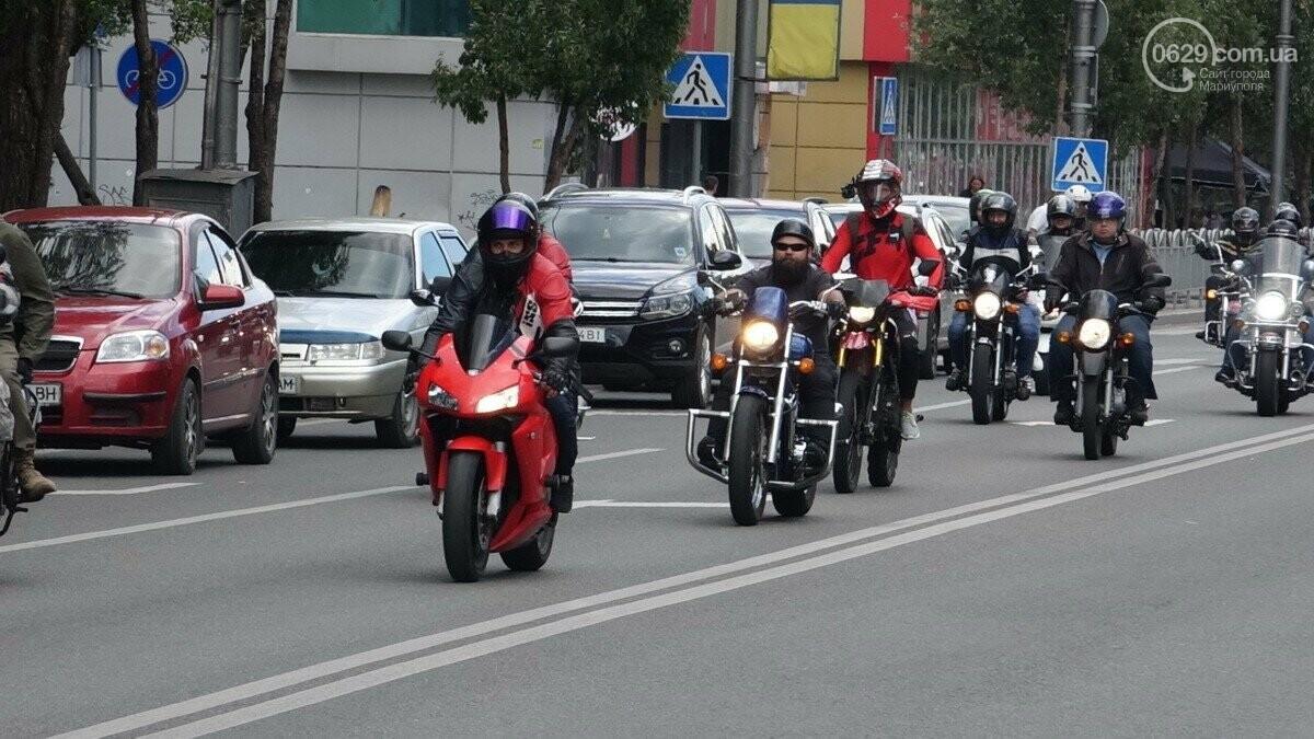"""В Мариуполь прибыли участники «Мотопробега Единства - 2020"""",- ФОТО, фото-1"""