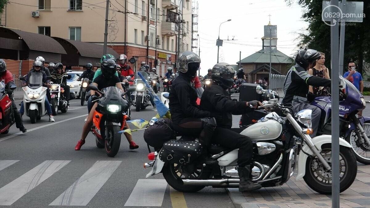 """В Мариуполь прибыли участники «Мотопробега Единства - 2020"""",- ФОТО, фото-3"""