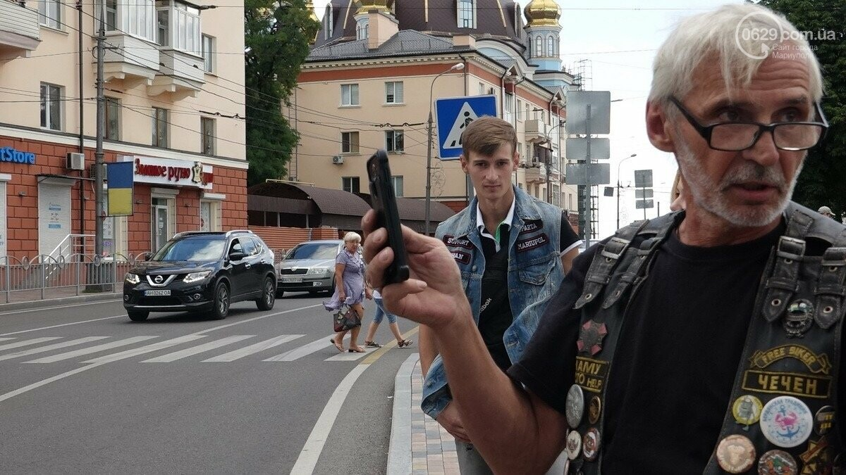 """В Мариуполь прибыли участники «Мотопробега Единства - 2020"""",- ФОТО, фото-4"""