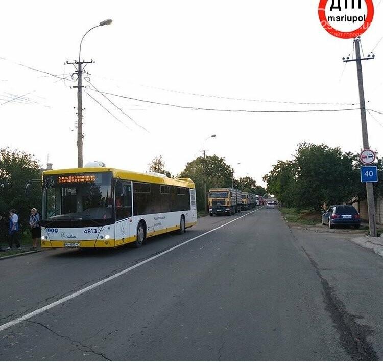В Мариуполе легковушка столкнулась с зерновозом,-ФОТО, фото-4