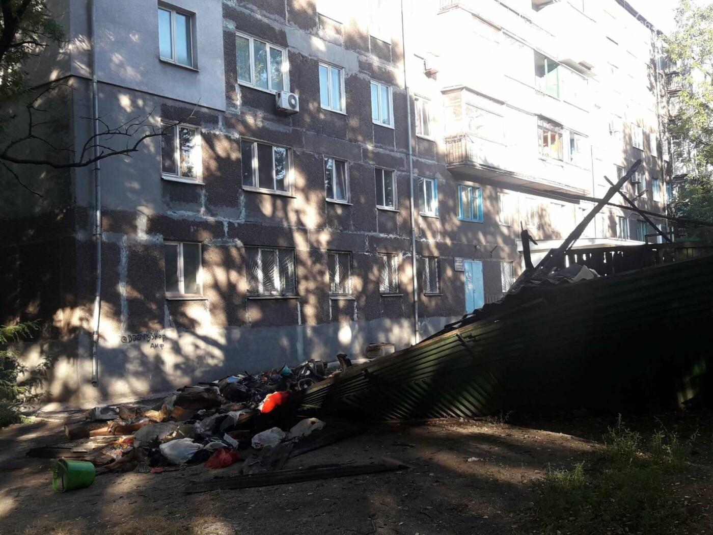 В Мариуполе на улице Куприна  горели книги,-ФОТО, фото-7