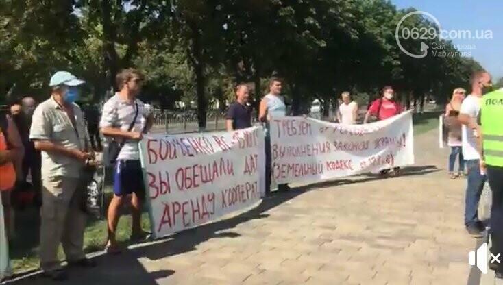 В Мариуполе перед сессией горсовета митинговали автолюбители, - ФОТО, фото-4
