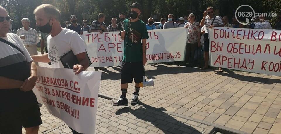 В Мариуполе перед сессией горсовета митинговали автолюбители, - ФОТО, фото-3