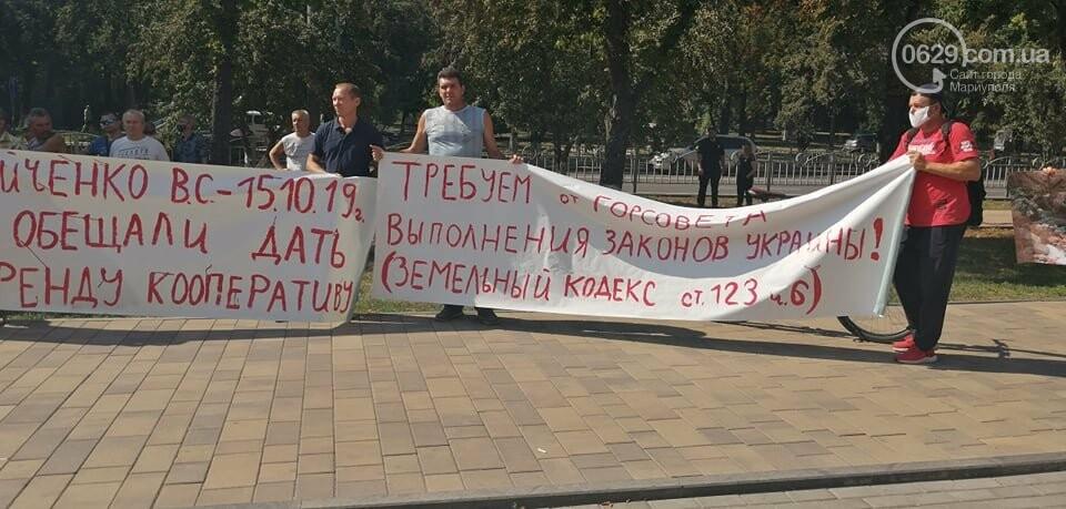 В Мариуполе перед сессией горсовета митинговали автолюбители, - ФОТО, фото-1