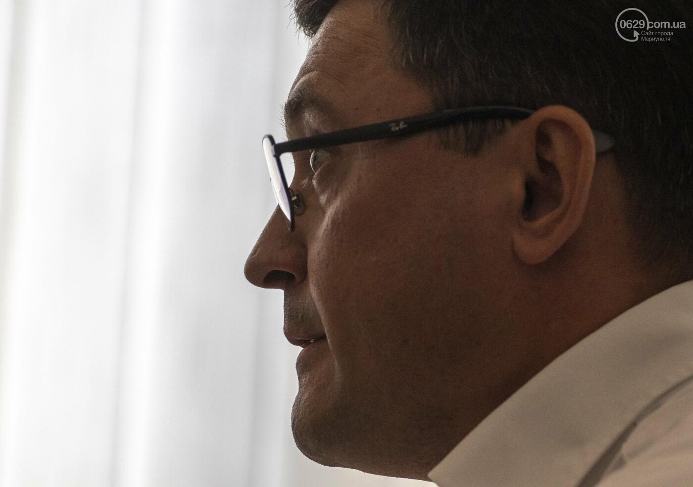О людях-флешках, вицепремьерстве, переносе «Азовстали» и БВБ, - интервью с мэром Мариуполя Вадимом Бойченко, - ФОТО, ВИДЕО, фото-5