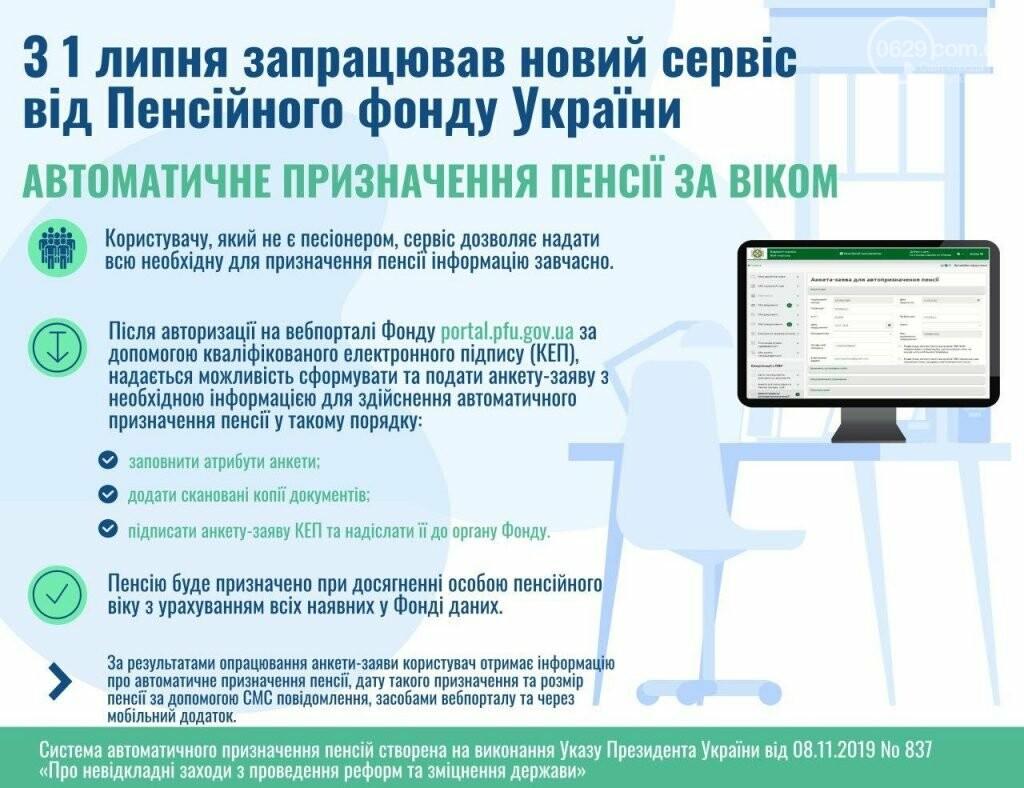 В Украине ввели автоматическое назначение пенсии. Как это работает, фото-1