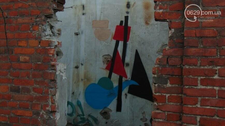 От сгоревших руин до объекта культуры. Как преобразится мариупольский радиоузел, - ФОТОРЕПОРТАЖ, фото-8