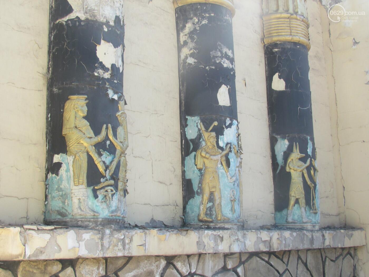 Поверженная цивилизация. От мариупольского ночного клуба остались руины, - ФОТОРЕПОРТАЖ , фото-8