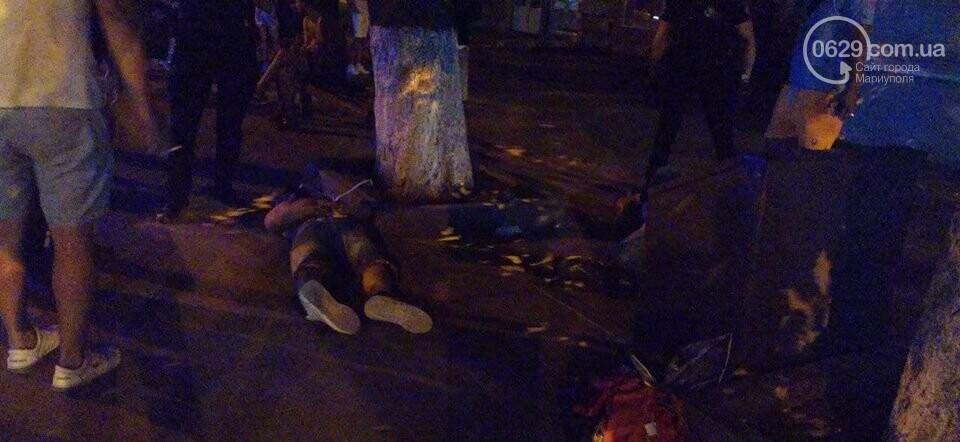 В центре Мариуполя спецназ задержал дебоширов и ограничил работу журналиста, - ФОТО, фото-2