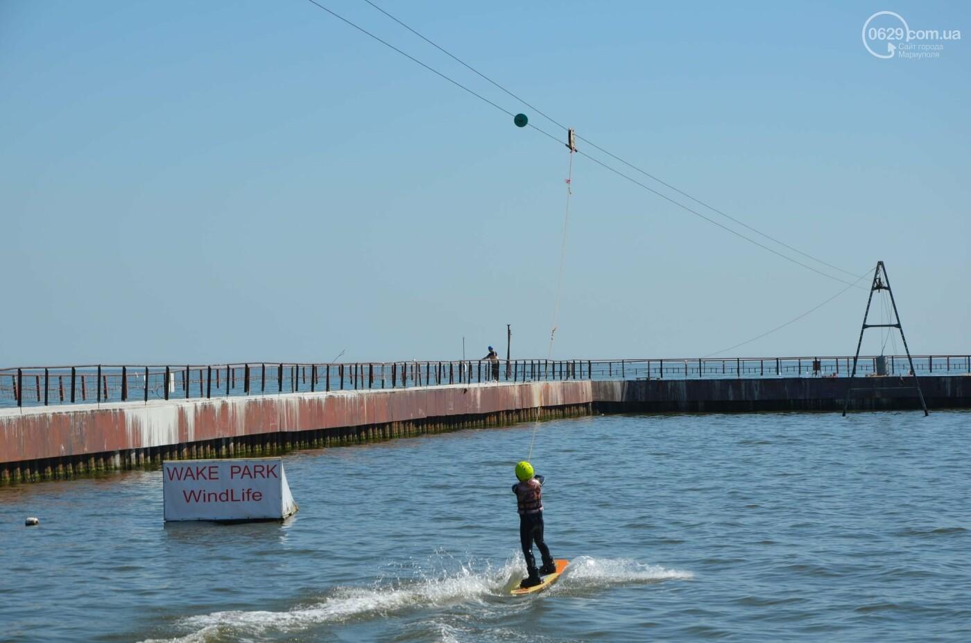 Полеты над водой. Как вейк-парк в Мариуполе стал заменой тренажерного зала, - ФОТО, фото-3