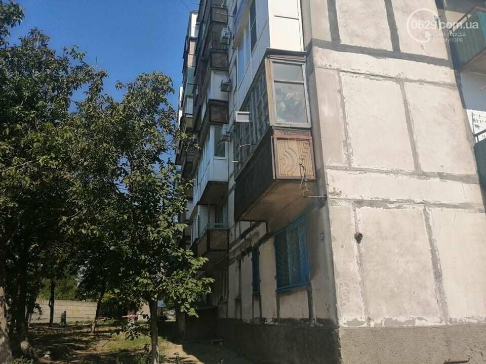 В Мариуполе  женщина выпала с девятиэтажки,- ФОТО, ВИДЕО, фото-2