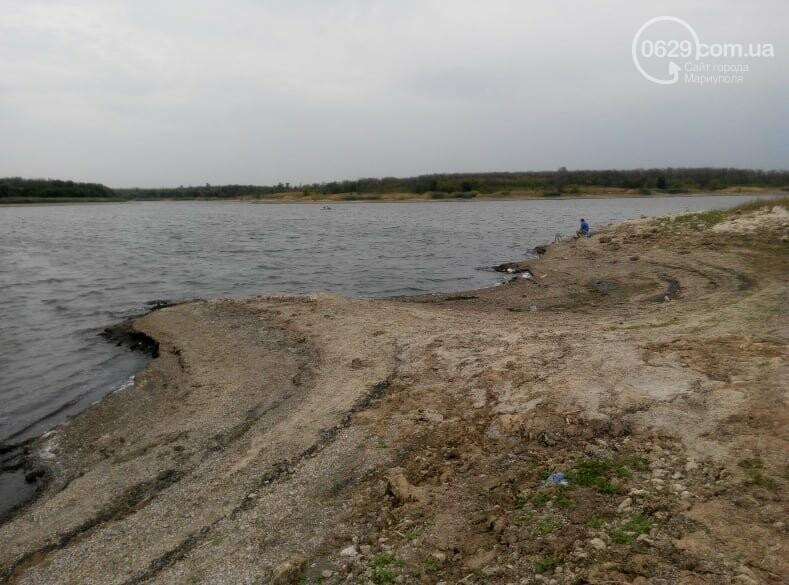 Павлопольское водохранилище катастрофически теряет воду, - ФОТОРЕПОРТАЖ, фото-1