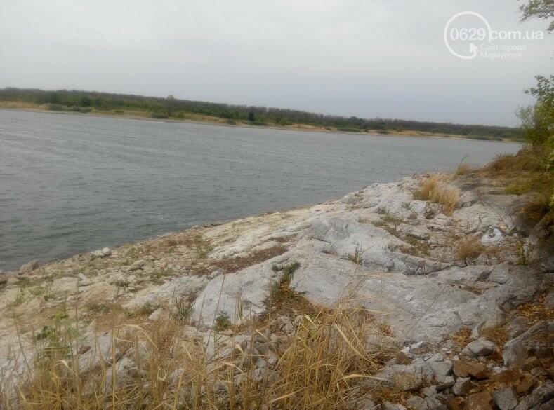 Павлопольское водохранилище катастрофически теряет воду, - ФОТОРЕПОРТАЖ, фото-5