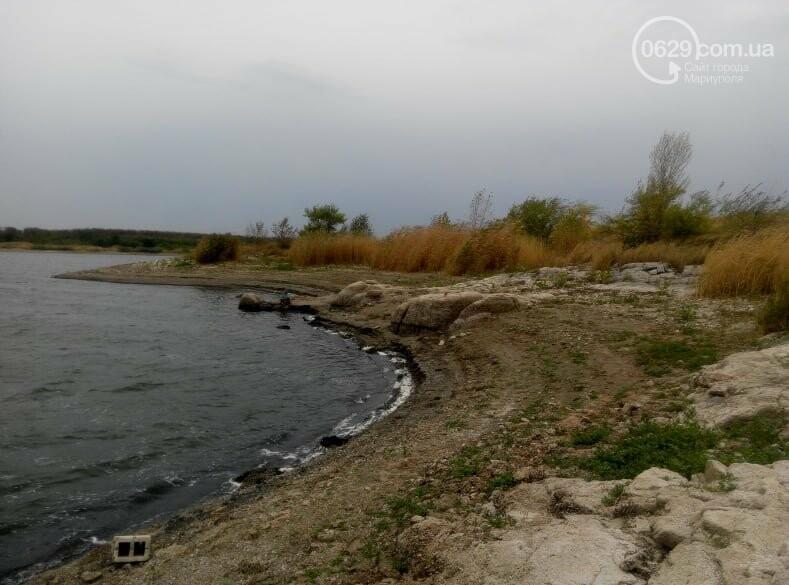 Павлопольское водохранилище катастрофически теряет воду, - ФОТОРЕПОРТАЖ, фото-8