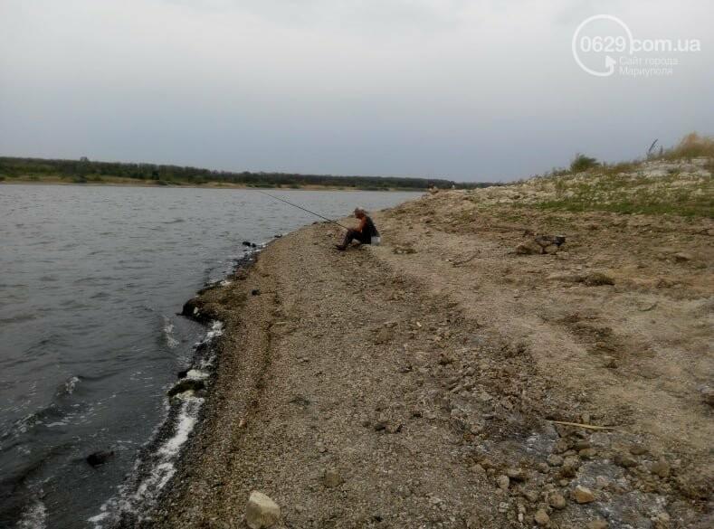 Павлопольское водохранилище катастрофически теряет воду, - ФОТОРЕПОРТАЖ, фото-7