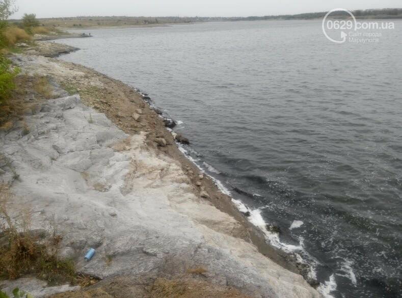 Павлопольское водохранилище катастрофически теряет воду, - ФОТОРЕПОРТАЖ, фото-2