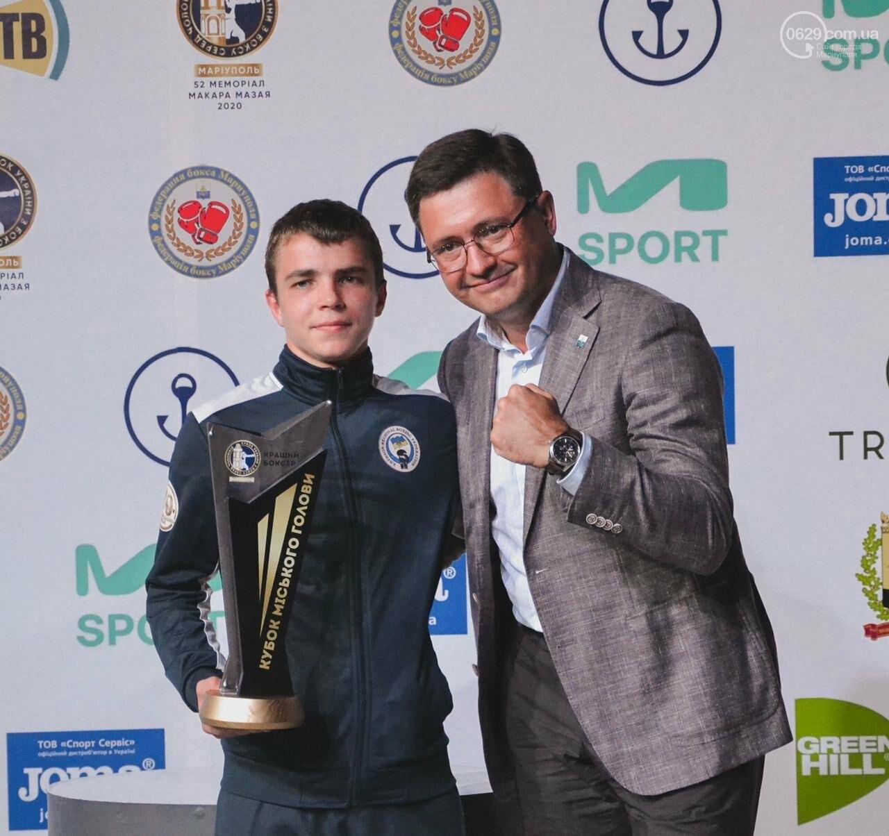 В минувшие выходные, в спорткомплексе «Ильичевец» завершился  52 мемориал Макара Мазая по боксу, который прошел  в рамках Кубка Украины, фото-3