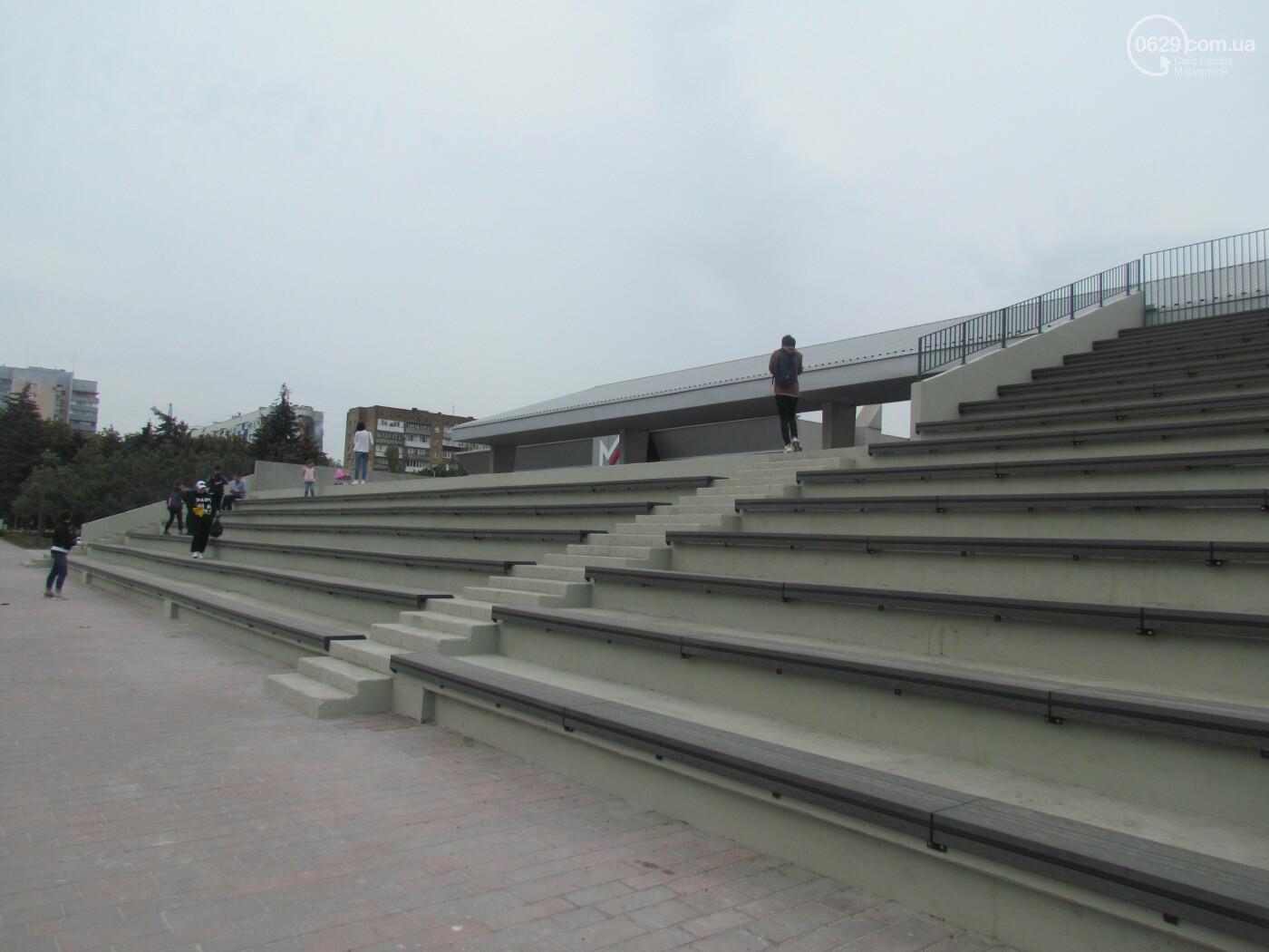 От упавшего Ленина до площади Свободы. Путь главной площади Мариуполя, - ФОТОРЕПОРТАЖ, фото-13