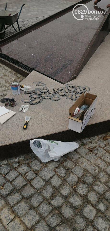 От упавшего Ленина до площади Свободы. Путь главной площади Мариуполя, - ФОТОРЕПОРТАЖ, фото-1